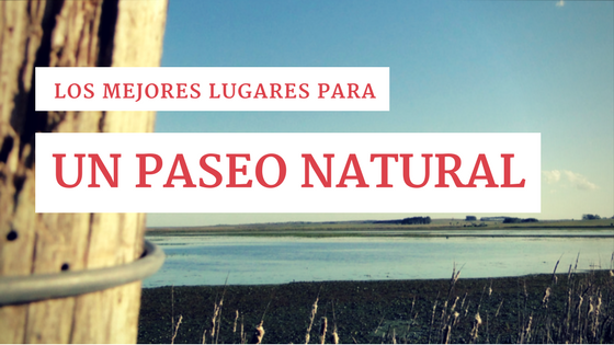 Los mejores lugares para un paseo natural