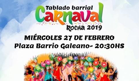 27/2: Carnaval en la ciudad de Rocha!